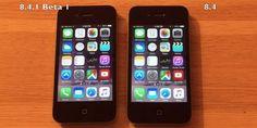เปรียบเทียบความเร็ว iOS 8.4.1 beta 1 กับ iOS 8.4 บน iPhone 4S