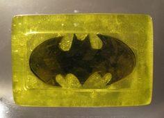 Batman soap as a party favor