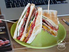 Club sandwich ricetta mediterranea