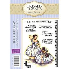 Crisalis Classics The Rehearsal by Christine Haworth 8Stamp EZMount Rubber Stamp Set >>> Find out more about the great product at the image link.