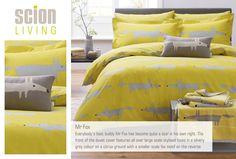 Buy Scion Mr Fox Duvet Cover from the Next UK online shop Linen Bedroom, Bedroom Inspo, Linen Bedding, Bedding Sets, Bedroom Furniture, Home Furniture, Bed Linen, Scion Mr Fox, Silver Bedding