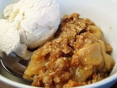 Carmel Apple crisp- hubby LOVES this! I doubled the topping though, didn't seem like it had enough.