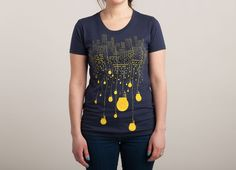 """The Hanging City"" - Threadless.com - Best t-shirts in the world"