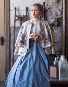 A Look at Some Amazing Costumes From Little Women Rocketman and Once Upon a Time in Hollywood Vanity Fair Movie Costumes, Cool Costumes, Costumes For Women, Amazing Costumes, Period Costumes, Estilo Blair Waldorf, Florence Pugh, Woman Movie, Vanity Fair