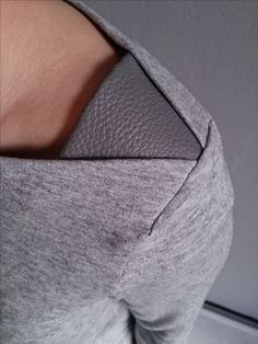 Sleeve insert at shoulder. Add a little design detail in an unexpected spot. Burdastyle, It's all in the details