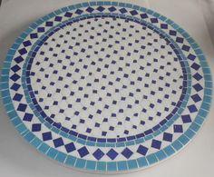 Trabalhos em Mosaico: Prato - Giratorio
