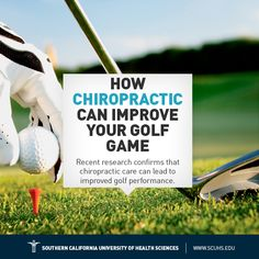 Study on chiropractic and golf.