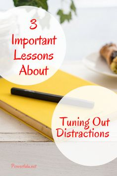 Distractions are all around us. We all need help tuning out distractions