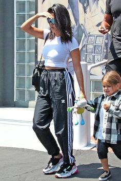 kourtney kardashian outfits best outfits - Page 2 of 101 - Celebrity Style and Fashion Trends Dress Outfits, Sporty Outfits, Mode Outfits, Peplum Dresses, Denim Outfits, Sneakers Fashion Outfits, Celebrity Outfits, Celebrity Style, Celebrity Sneakers