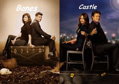 Bones and Castle are two of my favorite dramas on TV. With the similarities between characters, it's not hard to imagine why. Vote for your favorite Bones or Castle here. Tv Shows Funny, Best Tv Shows, Best Shows Ever, Favorite Tv Shows, Movies And Tv Shows, Bones Tv Series, Bones Tv Show, Castle Tv Series, Castle Tv Shows