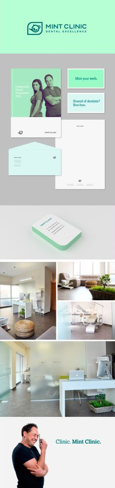 identity / mint clinic - dental