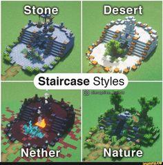 Minecraft Villa, Minecraft Kunst, Plans Minecraft, Minecraft House Tutorials, Minecraft Mansion, Minecraft Structures, Minecraft Cottage, Cute Minecraft Houses, Minecraft Room
