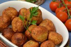 Chiftelute de naut-Falafel Falafel, Baked Potato, Tapas, Potatoes, Vegan, Baking, Vegetables, Ethnic Recipes, Food
