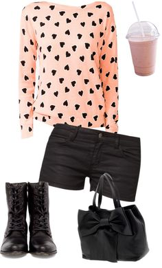 """untitled"" by corissa-paris ❤ liked on Polyvore"