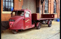 Scammell Scarab. Firth Brown. Top Farm Centre.