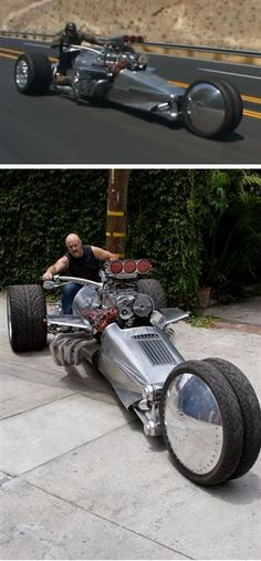 Just WOW: the Rocket II 2 Trike - See it in action on this video: http://www.youtube.com/watch?v=oeNLMN_RqSI=related