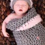 Newborn Kitty Cocoon Set wi..