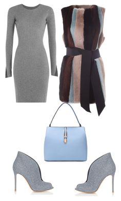 """""""Cosmina"""" by cosmina79 on Polyvore featuring Alexander Wang, BLANCHA and Gianvito Rossi"""