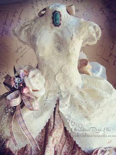 Dress Form Dolly by Christine Rose Elle