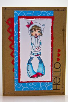 Tracy S.'s Gallery: Hello Kitty- Copic