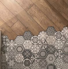 Hexagon Tile Floor, Eclectic Design, Aesthetic Room Decor, Morrocan Tile, Paint Colors For Home, Bathroom Remodel Master, Home Deco, Flooring, Aesthetic Rooms