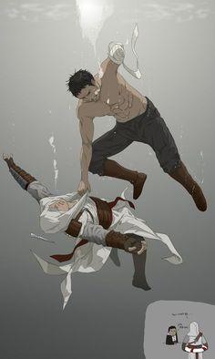 Assassin's Creed - Altair ibn La-Ahad x Malik Al-Sayf - AltMal