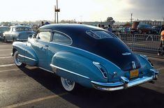 1947 Cadillac Series 62 Club Coupe - blue