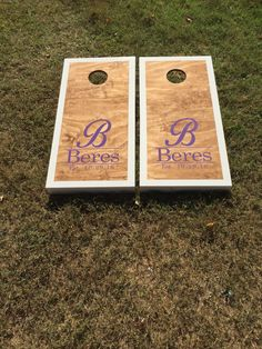 A personal favorite from my Etsy shop https://www.etsy.com/listing/464422066/local-pickup-only-custom-set-cornhole