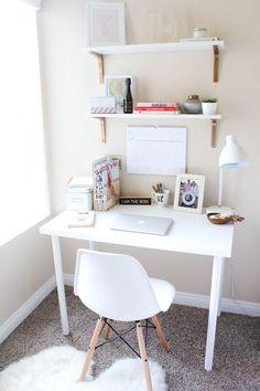 Bedroom Update Home Decor Home Office Space Room Decor Home Office Space, Home Office Design, Home Office Decor, Office Ideas, Desk Ideas, Office Designs, Study Room Decor, Room Ideas Bedroom, Home Decor Bedroom