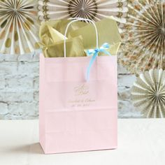 Personalized Fairy Tale Wedding Gift Bags