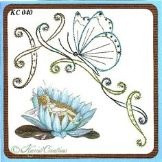 KarinsCreations Basic Embroidery Stitches, Embroidery Patterns, Beautiful Handmade Cards, Small Cards, Card Patterns, Metallic Thread, Swirls, Gift Tags, Card Making