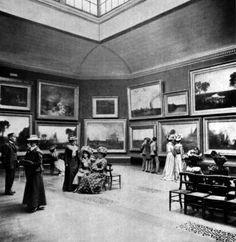 Sala Turner. National Gallery.1900