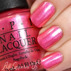 Opi: I Can't Hear Myself Pink