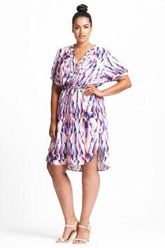 17 Sundays Wanderlust Print Dress