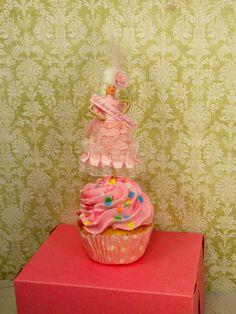 Marie Antoinette Cupcake Pick by sugarcookiedolls on Etsy, $15.00