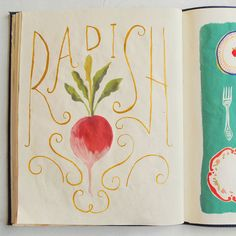 The sketchbook of Danielle Kroll | Book By Its Cover