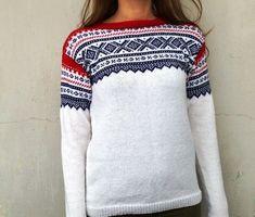 Marius genser (M) Merinoull. Hvit | FINN.no Drops Baby, Men Sweater, Pullover, Knitting, Crochet, Clothing, Sweaters, Inspiration, Design