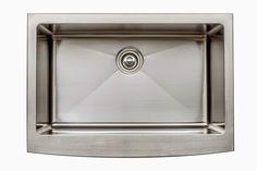 30 Inch Farmhouse Apron Single Bowl 16 Gauge Stainless Steel Kitchen Sink