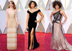 The 89th Annual Academy Awards Red Carpet Fashion: Nicole Kidman, Meryl Streep, Halle Berry, Taraji P. Henson, Emma Stone