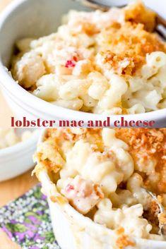 Lobster Mac and Cheese (Ina Garten recipe) - Smells Like Home Lobster Mac N Cheese Recipe, Best Mac N Cheese Recipe, Best Mac And Cheese, Mac And Cheese Homemade, Lobster Recipes, Cheese Recipes, Seafood Recipes, Macaroni And Cheese, Cooking Recipes