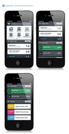 Designspiration — Workamajig® Mobile App on the Behance Network
