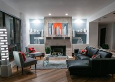 Risultati immagini per contemporary warm style interior design