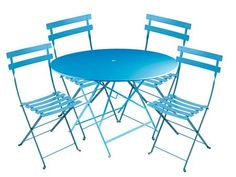 Buy Fermob Chair and 46-inch Table Set online with free shipping from thegardengates.com