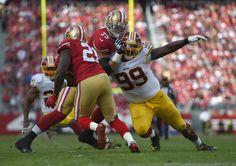 Frank Gore Photos - Washington Redskins v San Francisco 49ers - Zimbio