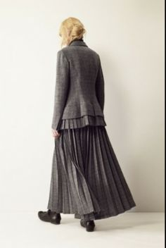 Y's Yohji Yamamoto a/w ... WOW I so love this outfit, the skirt is too cool.