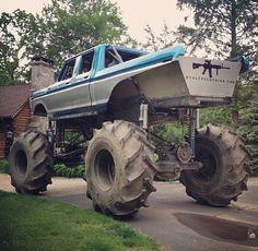 Ford up high Ford Pickup Trucks, Ford 4x4, 4x4 Trucks, Car Ford, Diesel Trucks, Custom Trucks, Lifted Trucks, Cool Trucks, Mudding Trucks