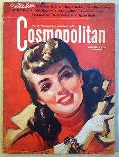 Cosmopolitan magazine, DECEMBER 1941 Artist: Bradshaw Crandell