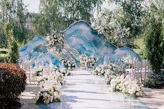 Зона церемонии стала настоящим произведением искусства, где каждый из гостей…