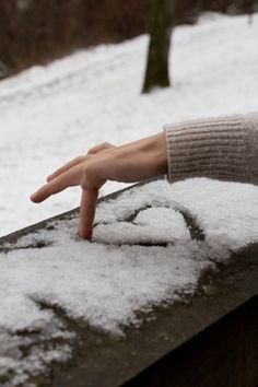 ♥ snow