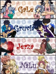 Fairy Tail Couples :3